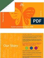 P&G Pakistan Social Commitment Report 2008