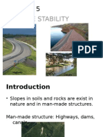 Chapter 5 - Slope Stability