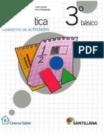 Matemática 3° cuaderno actividades