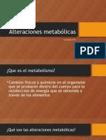 Alteraciones metabólicas2