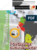 Revista Nº 6 - octubre -noviembre 2015 - Pasantías Académicas