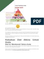 Manfaat Diet Atkins Untuk Kesihatan Anda