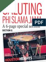 Phi Slama Jama special section