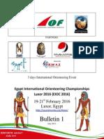 Luxor Bulletin 1