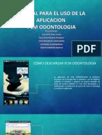 Guia de la aplicación Plm Odontologia