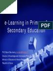 E-learnnig in Education