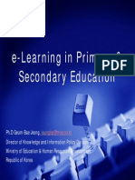 E-learnnig in Education