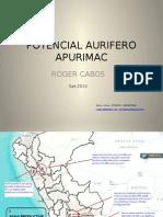 POTENCIAL AURIFERO APURIMAC 2014.pptx