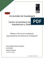 Métodos y Técnicas de Investigación Esquematización del protocolo de Investigación