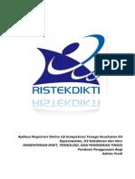 Manual Book Admin Prodi - Incl. Cetak Str