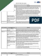 Draft Public Policy Agenda 0508