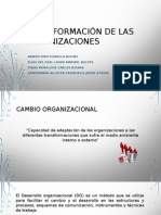 Transformación de Las Organizaciones