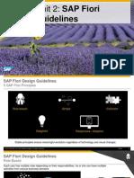 OpenSAP Fiux1 Week 2 Unit 2 FDG Presentation