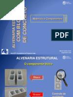 ALVENARIA ESTRUTURAL EM BLOCOS DE CONCRETO