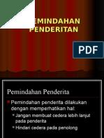 PEMINDAHAN PENDERITA