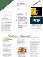 beer potomania brochure