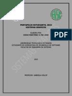 PORTAFOLIO ESTUDIANTIL 2015