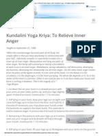 Kriya_ Inner Anger
