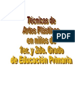 Monografia Artes Plasticas en Niños