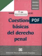 Cuestiones Basicas de Derecho Penal - Manuel Vallejo