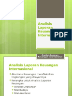 Analisis Laporan Keuangan Luar Negeri
