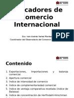 Indicadores de Comercio Internacional