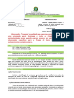 Exame de Lesões Corporais - SENASP