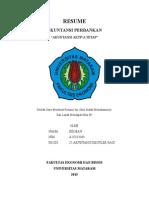 Resume Akuntansi Aktiva Tetap