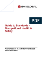 Guide to Standards-Occupational Health and Safety