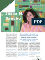 Entrevista a Juana Sancho Gil