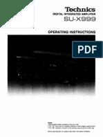Technics Su-x 999