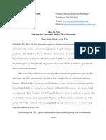 sherese m brooks news release e-portfolio 5