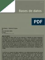 Base de Datos TODOS