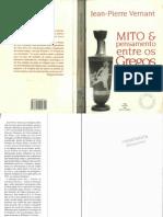 Jean-Pierre Vernant - Mito e Pensamento Entre Os Gregos[Ed.paz e Terra]