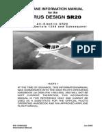 Cirrus Airplane Information Manual