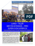 Difundiendo La Cultura de Seguridad en El Trabajo - Eusterio Huerta Leon