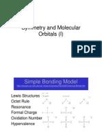 Molecular Orbitals - Symm Defined