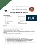 Silabo de Maquinaria Agricola 2015 i