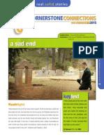 4th Quarter 2015 Lesson 9 Cornerstone Connections