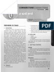 4th Quarter 2015 Lesson 9 Cornerstone Connections Teachers Guide