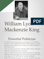 william lyon mackenzie king