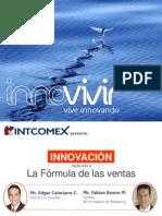 INNOVIVIR. Innovación aplicada a la fórmula de ventas