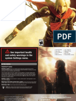 Final Fantasy Type-0 SOFTWARE MANUAL