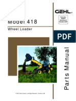 Gehl 418 All Wheel Steer Loader Parts Manual DOWNLOAD