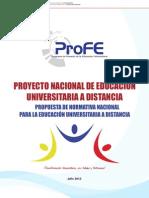 Proyecto Normativa Julio 2012
