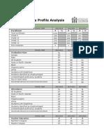 data profile analysis