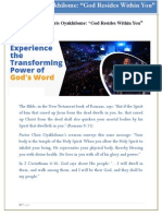 Pastor Chris Oyakhilome - God Resides Within You