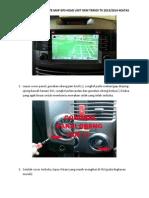 Panduan Free Update Map Gps Head Unit Oem Terios TX 2013