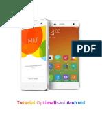 Tutorial Optimalisasi Android