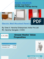 Energy efficient panel heaters | Amaze-Heater